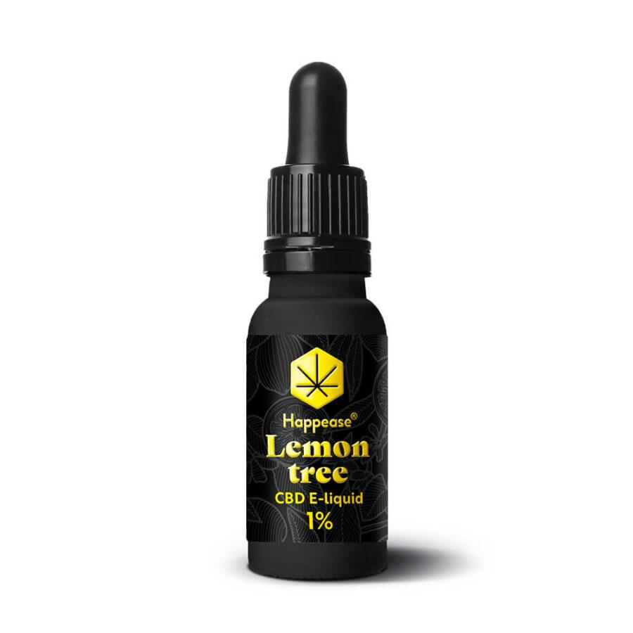 Happease CBD E-Liquid Lemon Tree 1% - 100mg (10ml)