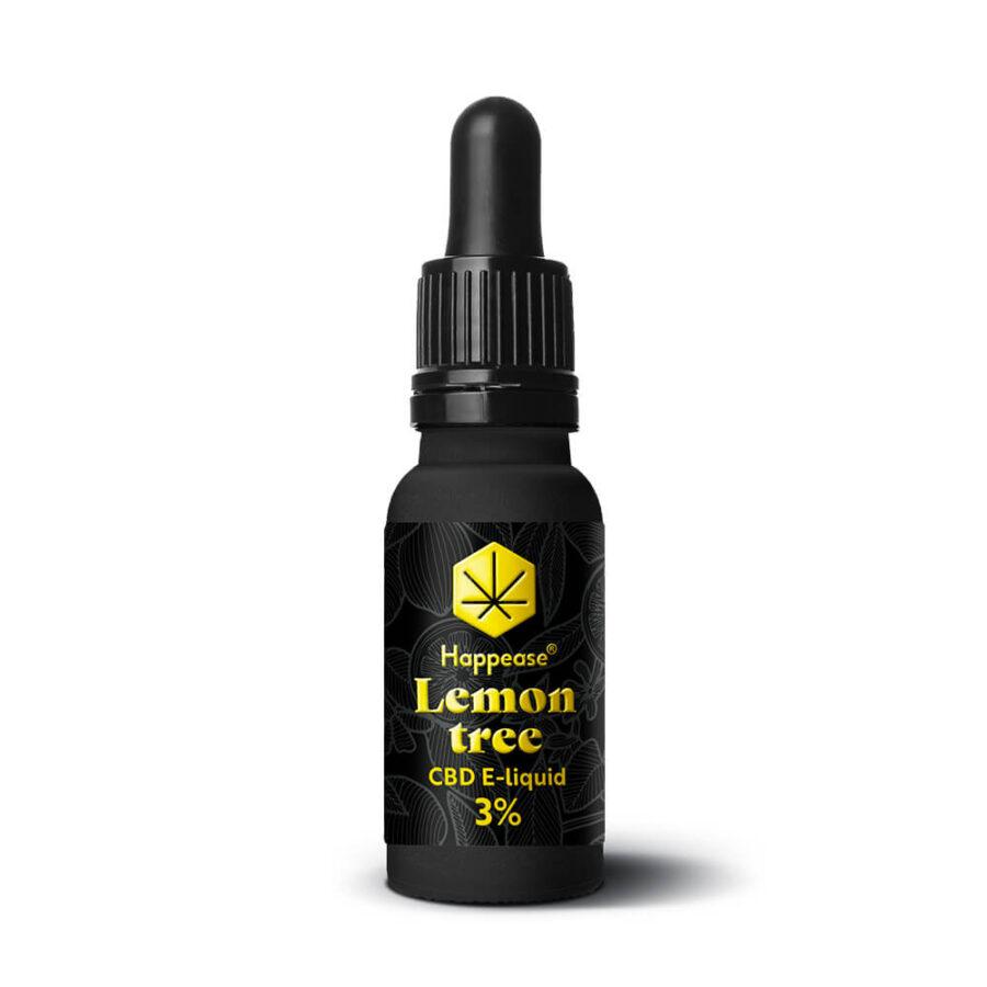 Happease CBD E-Liquid Lemon Tree 3% - 300mg (10ml)