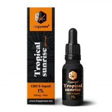 Happease CBD E-Liquid Tropical Sunrise 1% - 100mg (10ml)