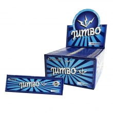 Jumbo King Size Blue Rolling Papers (50pcs/display)