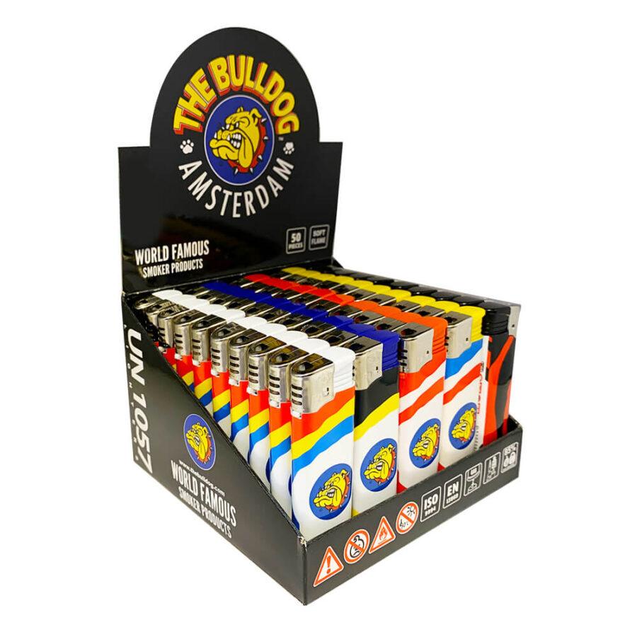 The Bulldog Lighter Circus Mix Designs (50pcs/display)