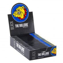 The Bulldog Black Small Rolling Papers 1/4 (25pcs/display)
