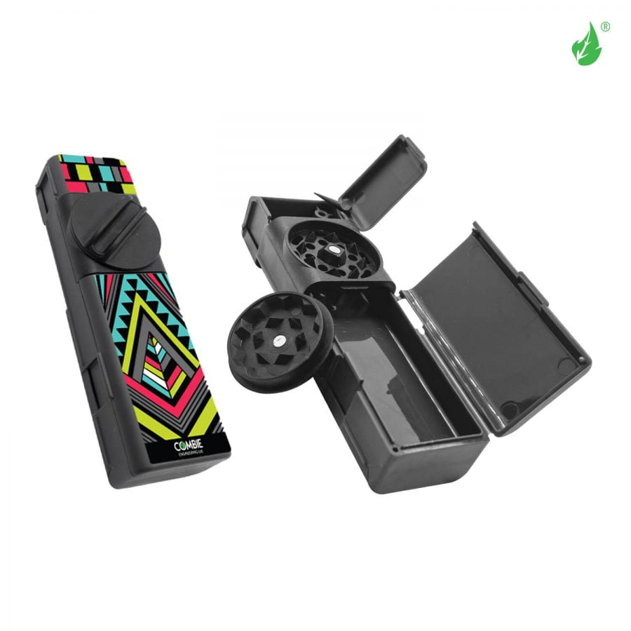 Combie™ All-In-One pocket grinder - Modern abstract (10pcs/display)