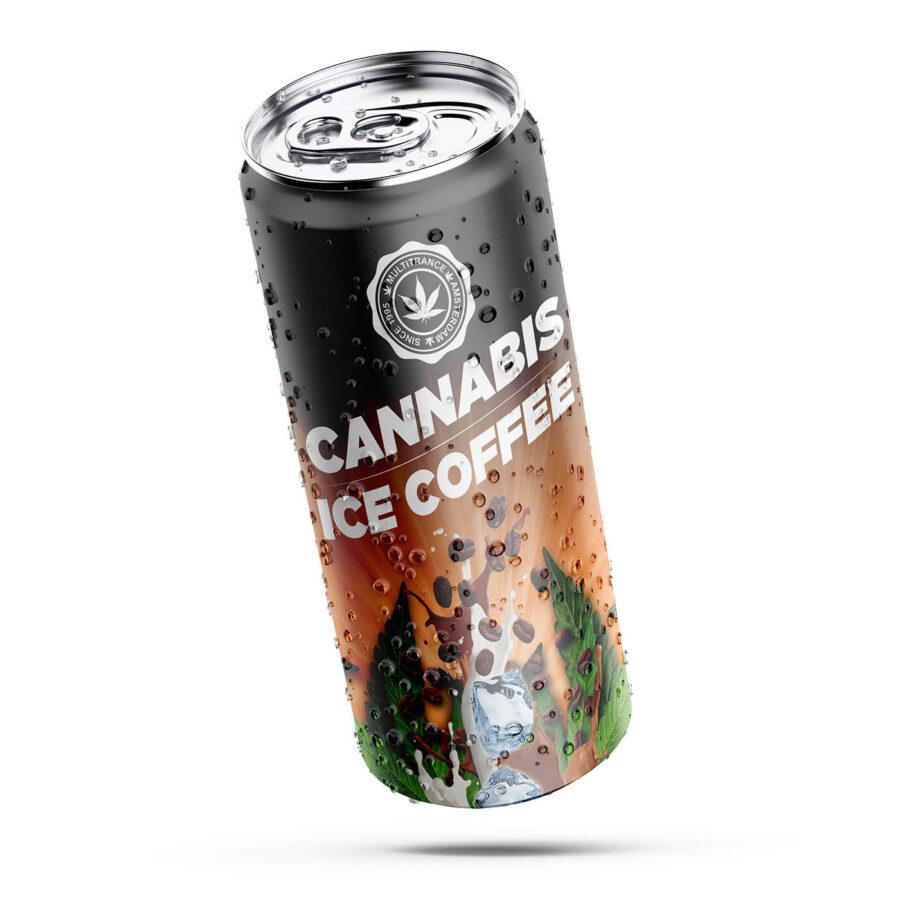 Cannabis Ice Coffee THC Free 250ml (24cans/display)