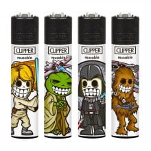 Clipper Lighters Space Warriors (24pcs/display)