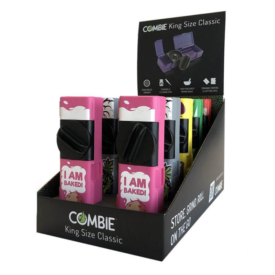 Combie™ All-In-One Pocket Grinder - I'm Baked (10pcs/display)