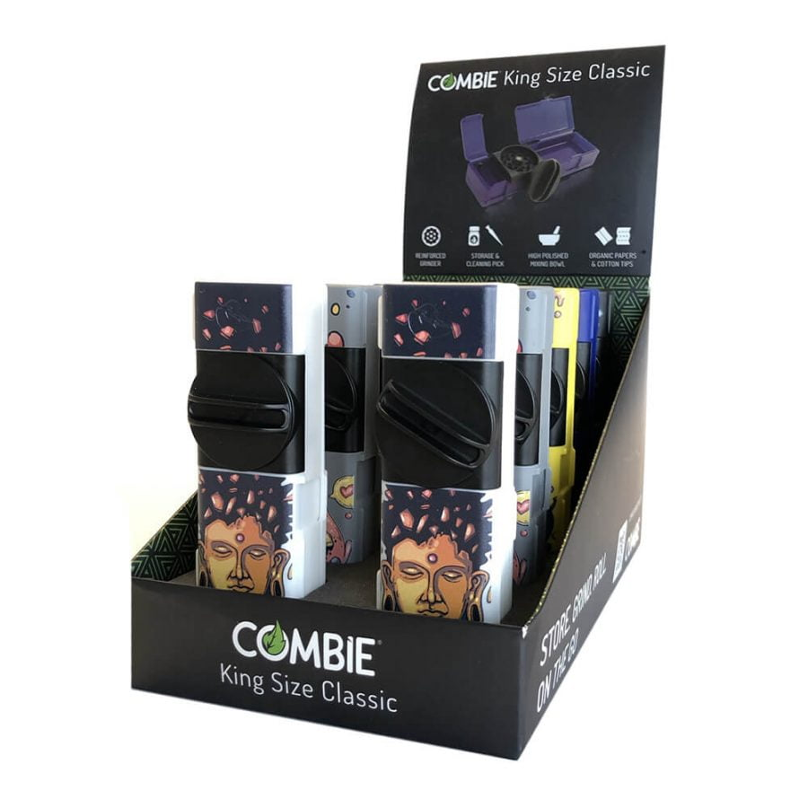 Combie™ All-In-One Pocket Grinder - Buddha (10pcs/display)