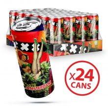 Amsterdam XXX Energy Drink 250ml THC Free (24cans/box)