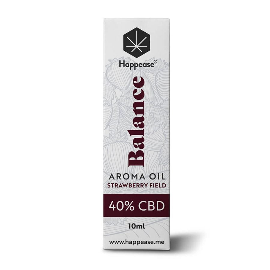 Happease® Balance 40% CBD Oil Strawberry Field (10ml)