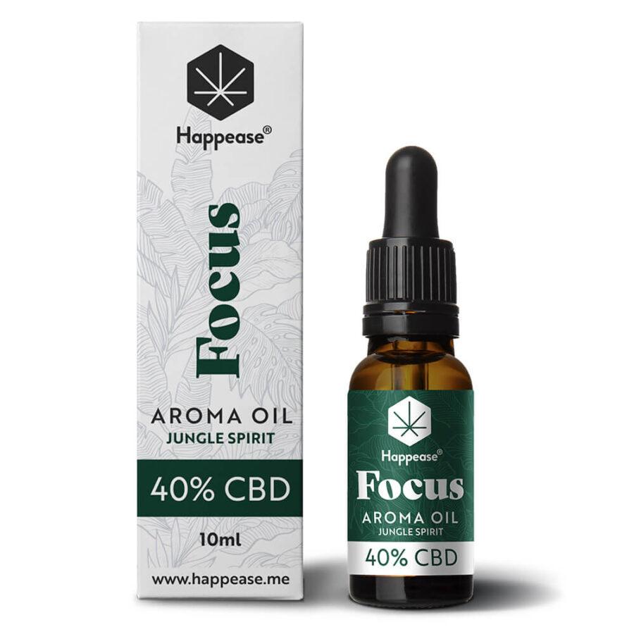 Happease® Focus 40% CBD Oil Jungle Spirit (10ml)
