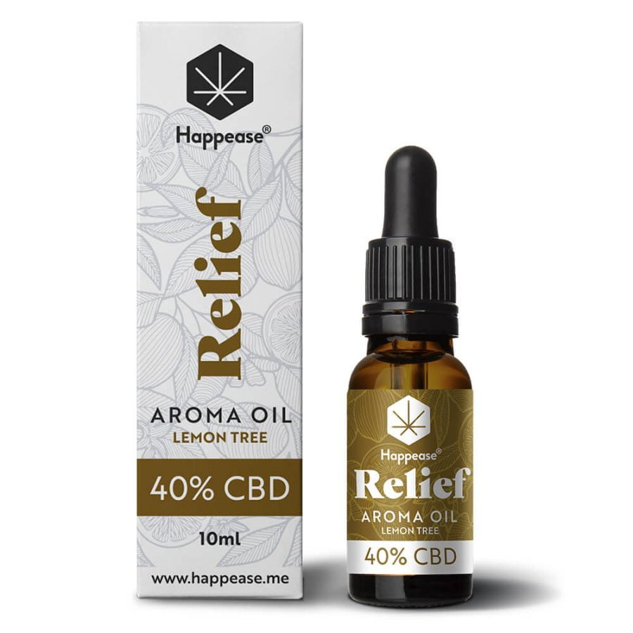 Happease® Relief 40% CBD Oil Lemon Tree (10ml)