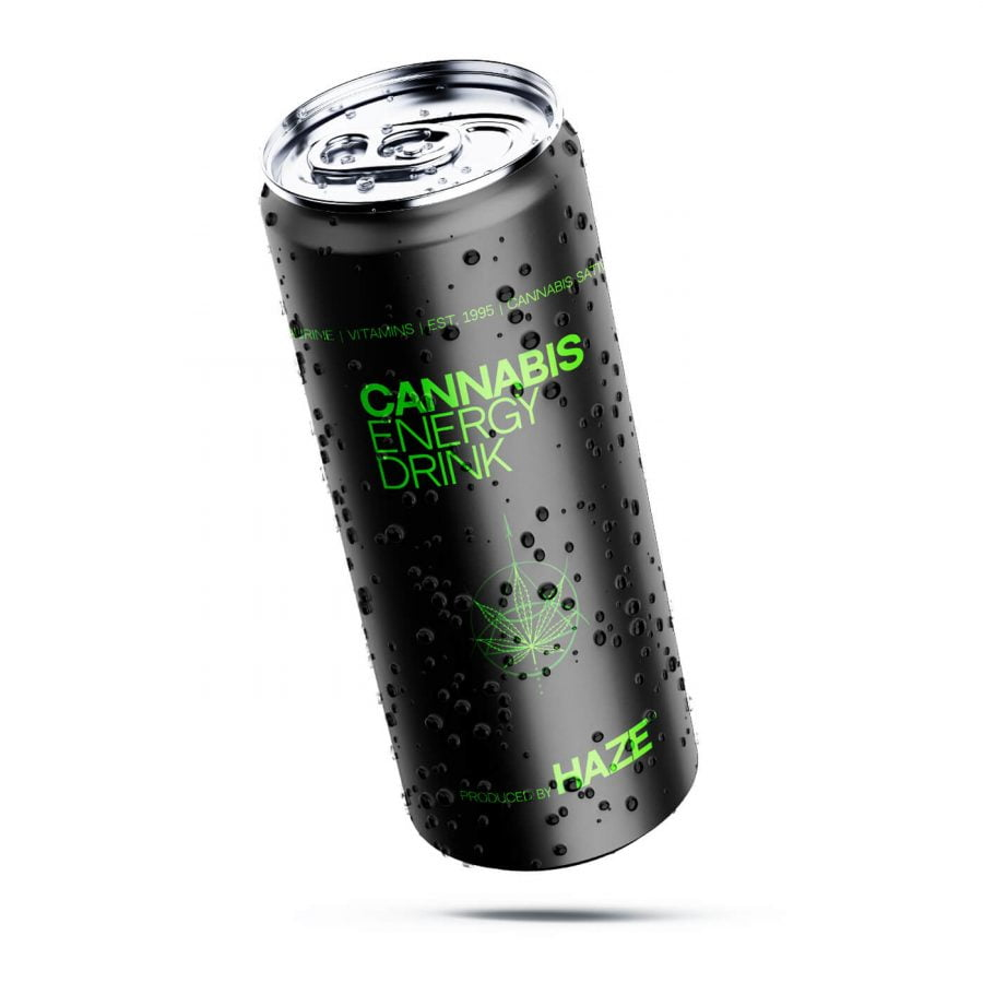Cannabis Energy Drink Haze 250ml (24cans/masterbox)