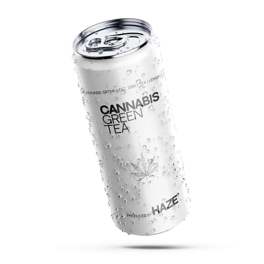 Cannabis Green Tea Haze 250ml (24cans/masterbox)