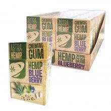 Cannabis Blueberry Hemp Chewingums THC Free (20packs/display)