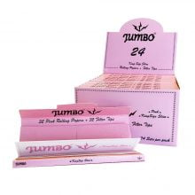 Jumbo King Size Rolling Papers with Filters (24pcs/display)