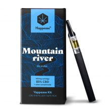 Happease Mountain River 85% CBD Classic Starter Kit