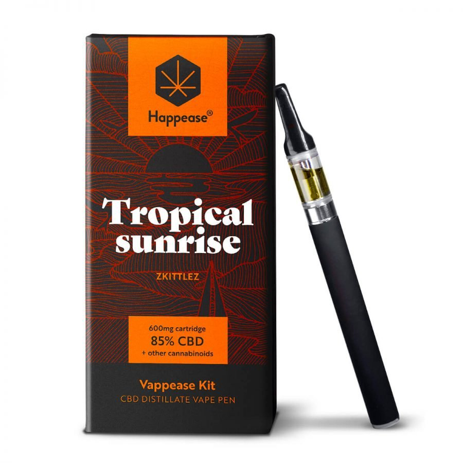 Happease Classic - Tropical Sunrise 85% CBD vaping pen