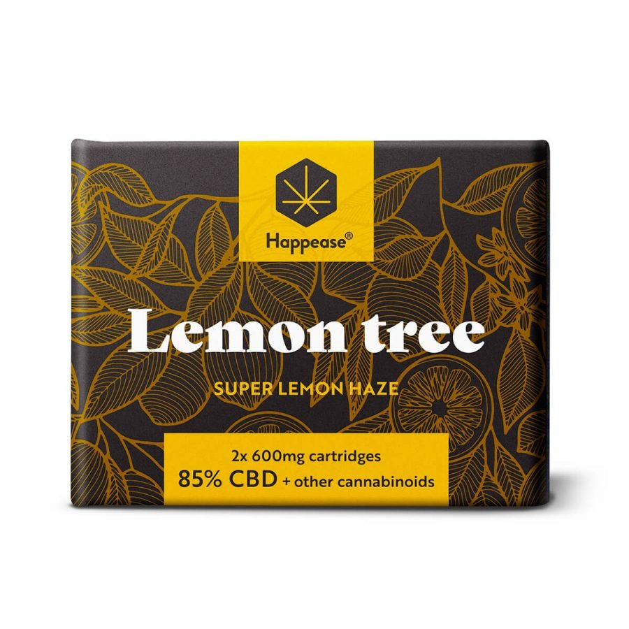 Happease Lemon Tree 85% CBD Cartridges (2pcs/pack)