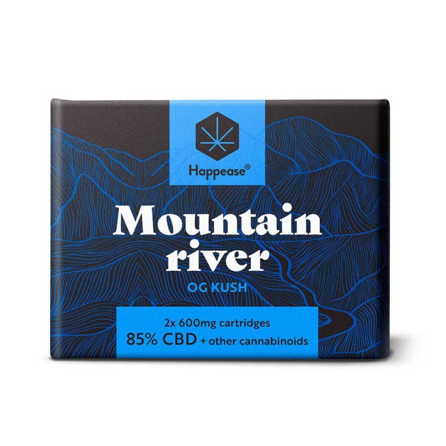 Happease Mountain River 85% CBD Cartridges (2pcs/pack)
