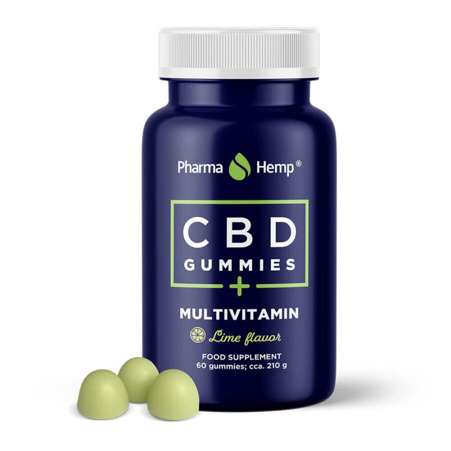 Pharma Hemp 10mg CBD Multivitamin Vegan Gummies (210g)