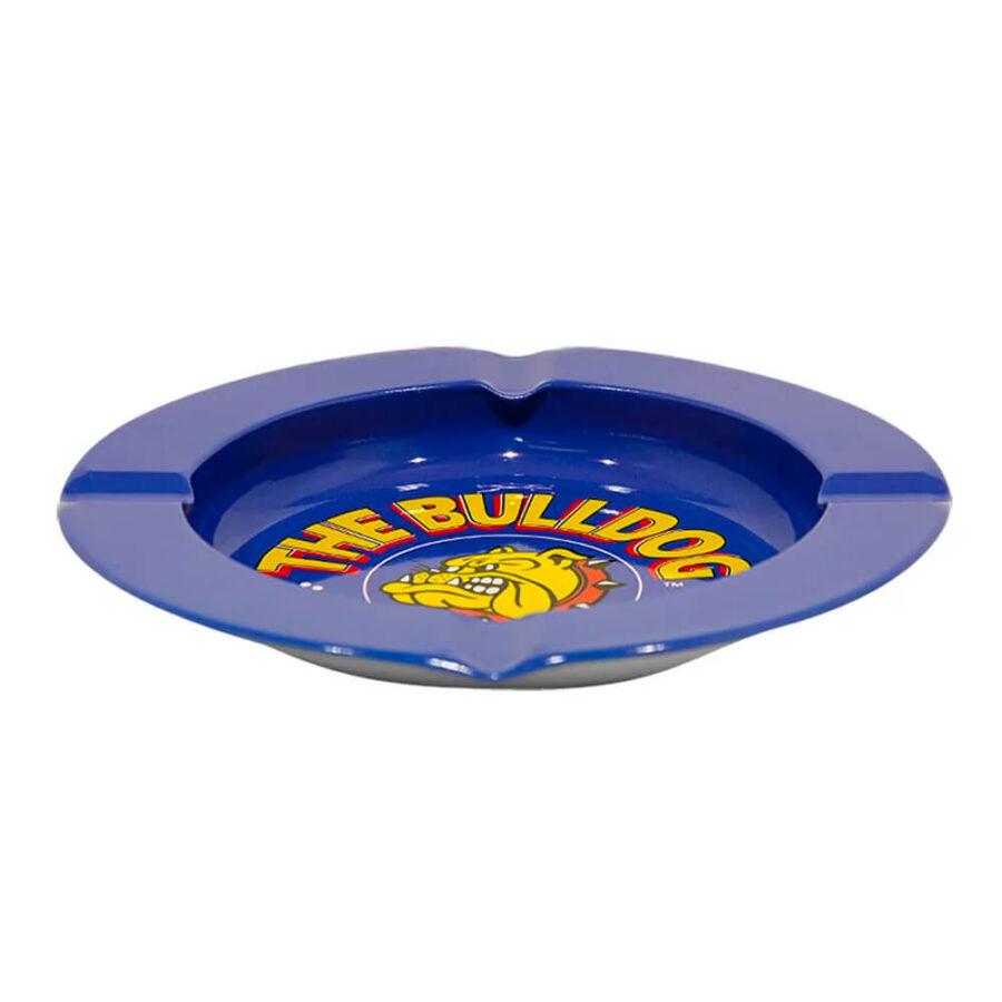 The Bulldog Original Blue Metal Ashtray