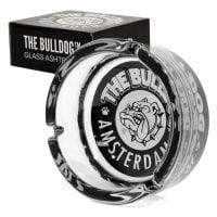 The Bulldog Original Black Glass Ashtray