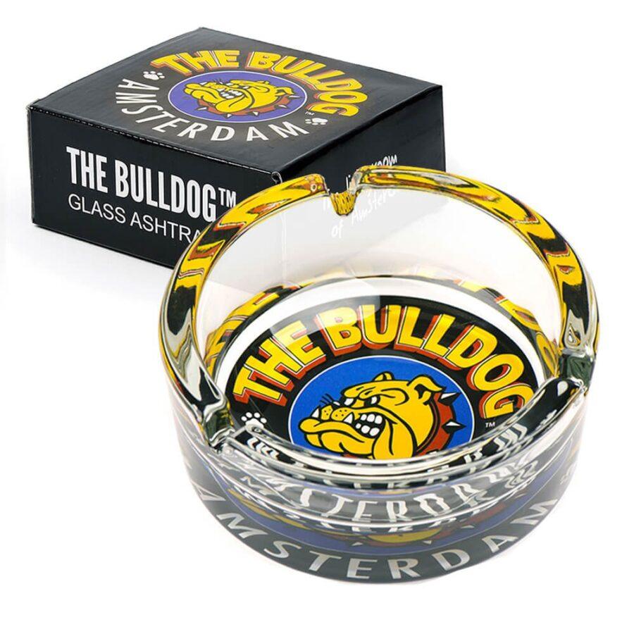 The Bulldog Original Glass Ashtray