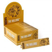 The Bulldog Brown King Size Rolling Papers (50pcs/display)