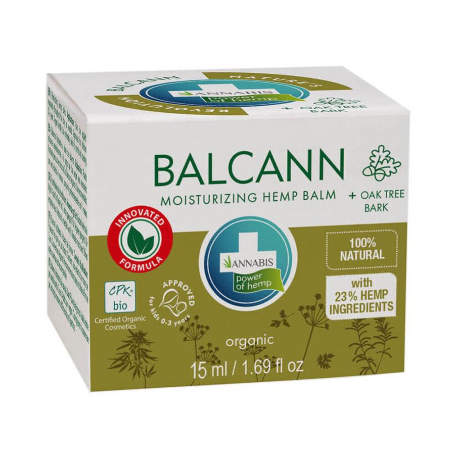 Annabis Balcann Moisturizing Hemp Balm with Oak Tree Bark (15ml)