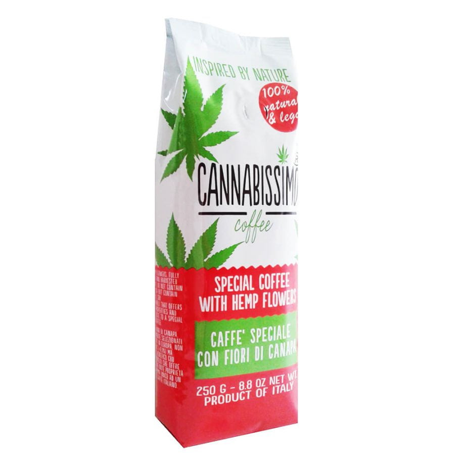 Cannabissimo Ground Coffee with Hemp Flowers (250g)