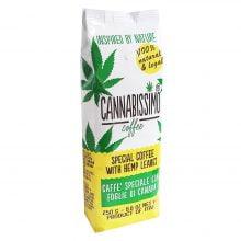 Cannabissimo Ground Coffee with Hemp Leaves (250g)