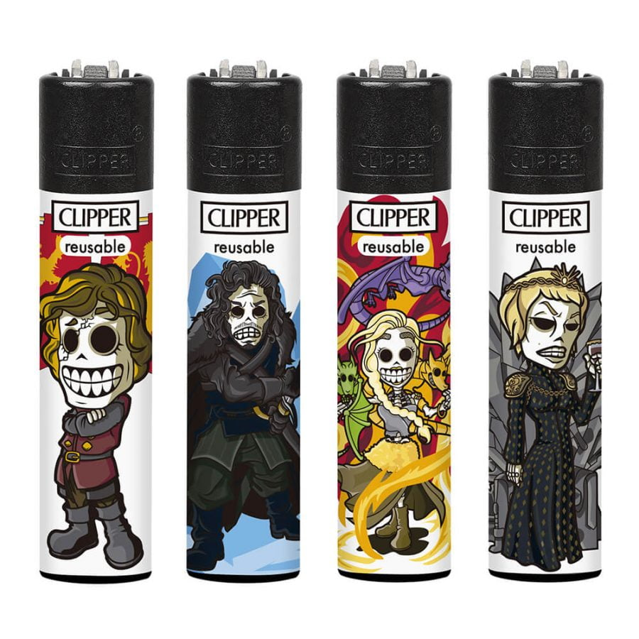 Clipper Lighters Medievil (24pcs/display)
