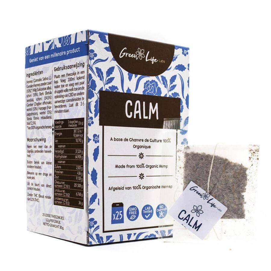 Green Life Organic Hemp Calm Tea 30g (25bags/box)