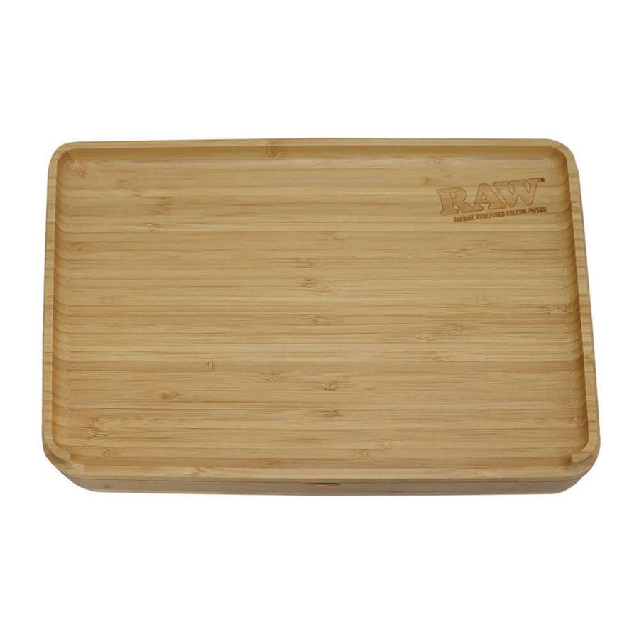 RAW Spirit Box Wooden Magnetic Rolling Tray