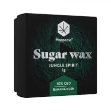Happease Extracts Jungle Spirit Sugar Wax 62% CBD (1g)