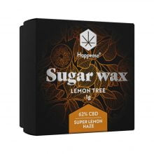 Happease Extracts Lemon Tree Sugar Wax 62% CBD (1g)