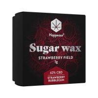 Happease Extracts Strawberry Field Sugar Wax 62% CBD (1g)