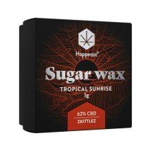 Happease Extracts Tropical Sunrise Sugar Wax 62% CBD (1g)