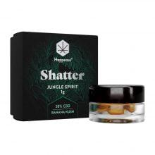 Happease Extracts Jungle Spirit Shatter 58% CBD (1g)