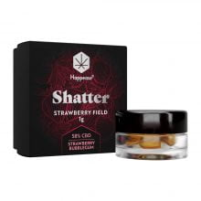Happease Extracts Strawberry Field Shatter 58% CBD (1g)