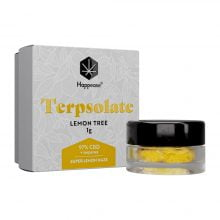 Happease Extracts Lemon Tree Terpsolate 97% CBD + Terpenes (1g)