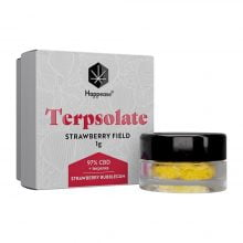 Happease Extracts Strawberry Field Terpsolate 97% CBD + Terpenes (1g)