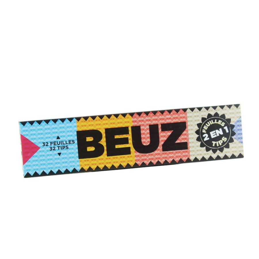 Beuz KS lim Rolling Papers with Tips (24pcs/display)