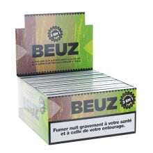 Beuz KS lim Unbleached Rolling Papers with Tips (24pcs/display)