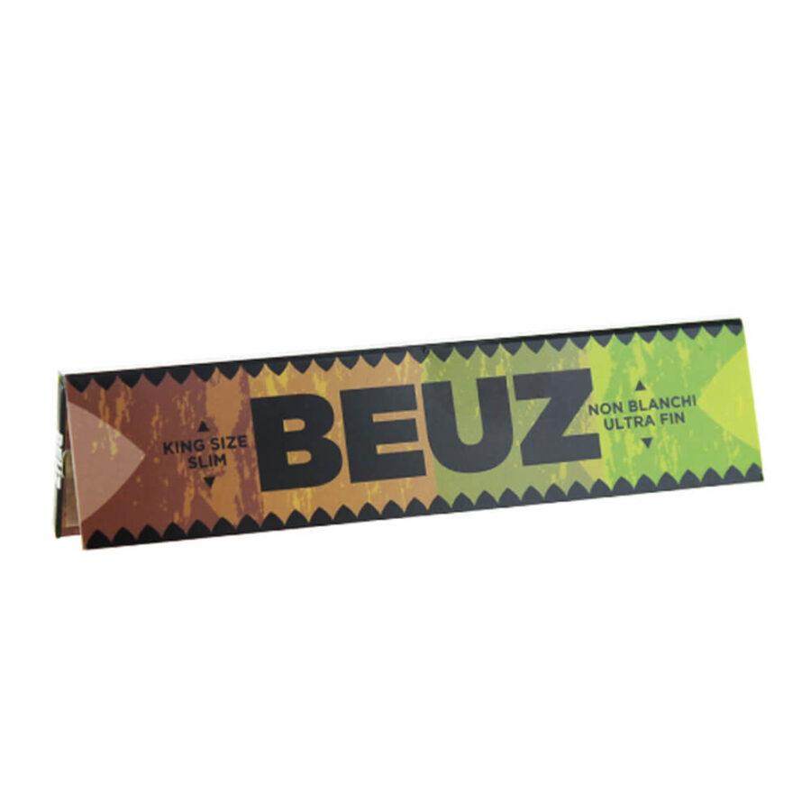 Beuz KS lim Unbleached Rolling Papers (50pcs/display)