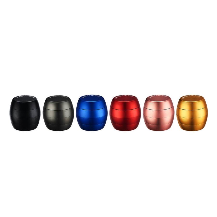 Champ High Egg Aluminium Grinder Mix Colors 40mm - 4 Parts (6pcs/display)