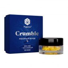 Happease Extracts Mountain River Crumble 90% CBD + Other Cannabinoids (1g)