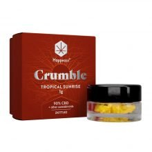 Happease Extracts Tropical Sunrise Crumble 90% CBD + Other Cannabinoids (1g)