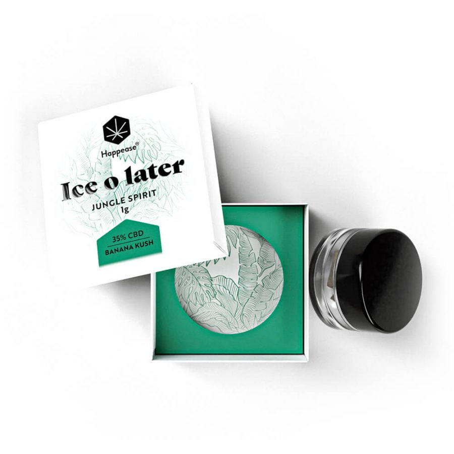 Happease Extracts Jungle Spirit Ice O Later 35% CBD (1g)