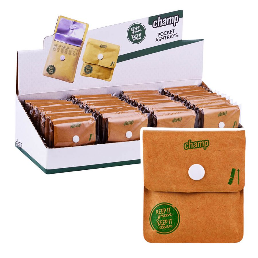 Champ High Pocket Ashtrays (48pcs/display)
